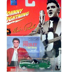 Johnny Lightning Rock Art Elvis Presley 1956 Ford Thunderbird