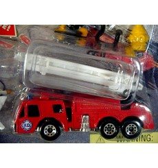 Matchbox Action Systems - Emergency Set with Fire Truck and Helicopter