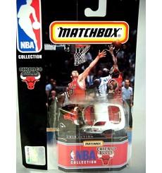 Matchbox NBA Collection Chicago Bulls Dodge Viper GTS