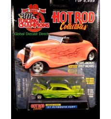 Racing Champions Hot Rod Collectibles - 1957 Plymouth Fury