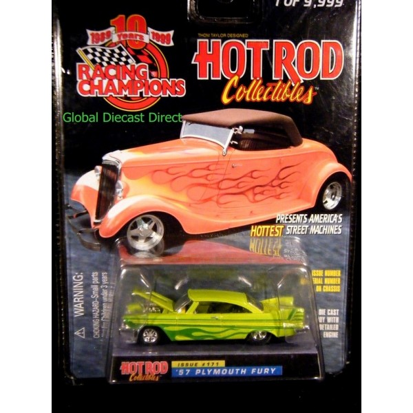 Racing Champions Hot Rod Collectibles - 1957 Plymouth Fury - Global Diecast Direct