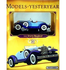Matchbox Models of Yesteryear - 1931 Stutz Bearcat