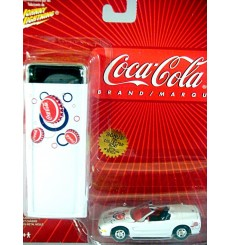 Johnny Lightning Coca-Cola Tins Series - Chevrolet Corvette C5 Convertible