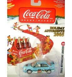 Johnny Lightning Holiday Automents - Mitsubishi Lancer