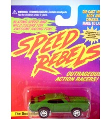 Johnny Lightning Speed Rebels - The Dominator - Oldsmobile 442 Muscle Car