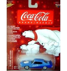Johnny Lightning Coca-Cola 1971 Pontiac GTO Judge