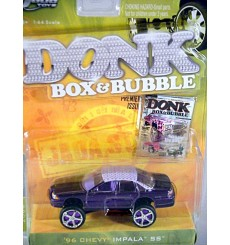 Jada Donk Box Bubble Series - 1996 Chevrolet Impala SS