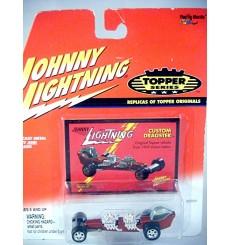 Johnny Lightning Topper Series - Custom Dragster - Dual Motor NHRA Rail Dragster