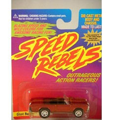 Johnny Lightning Speed Rebels - Goat Buster - 1965 Pontiac GTO Convertible