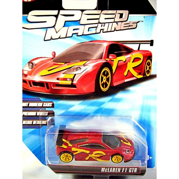 Hot Wheels Speed Machines Mclaren Gtr Supercar Global Diecast
