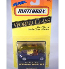 Matchbox World Class - Chevrolet Corvette Stingray III Concept Car