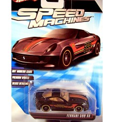 Hot Wheels Speed Machines - Ferrari 599 XX