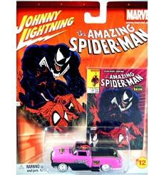 Johnny Lightning Marvel Comics- Spiderman - Chevrolet Cameo Custom - George Barris's Kopper Kart