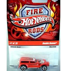 Hot Wheels Fire Rods - Double Demon Ford Tudor Hot Rod