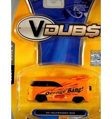 Jada VDubs - 1962 VW Bus - Orange Bang NHRA Race Bus