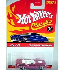 Hot Wheels 1970 Plymouth Cuda Convertible