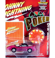 Johnny Lightning Poker - 2002 Pontiac Firebird WS-6