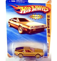 Hot Wheels 2010 New Models Series: 1981 DeLorean DMC-12