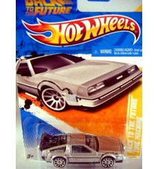 Hot Wheels Back To the Future Delorean DMC-12