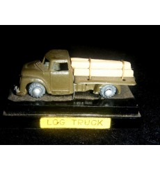 Ahi - 1950's Dodge Log Truck and display
