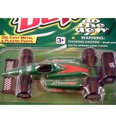 Golden Wheels - Mountain Dew Indy Open Wheel Race Car