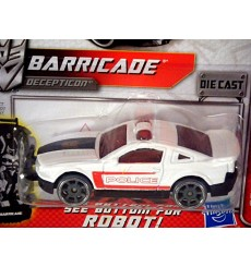 Hasbro Transformers Metal Series: Barricade Ford Mustang Police Car