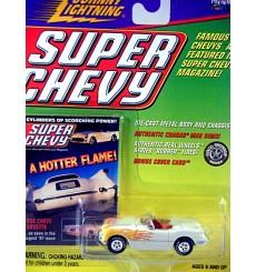Johnny Lightning Super Chevy - 1954 Chevrolet Corvette