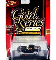 Johnny Lightning Gold Series - 1963 Chevrolet Corvette Stingray Split Window Coupe