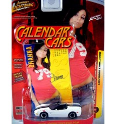 Johnny Lightning Calendar Girls - Chevrolet Corvette C5 Convertible