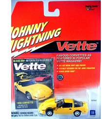 Johnny Lightning Vette Magazine - 1993 Chevrolet Corvette C4 Coupe