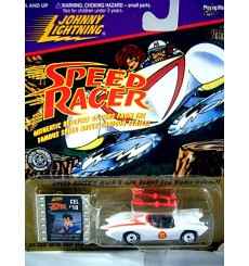 Johnny Lightning Speed Racer Gold Card - Mach 5 Race Car