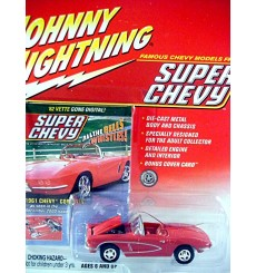 Johnny Lightning Super Chevy Magazine - 1961 Chevrolet Corvette