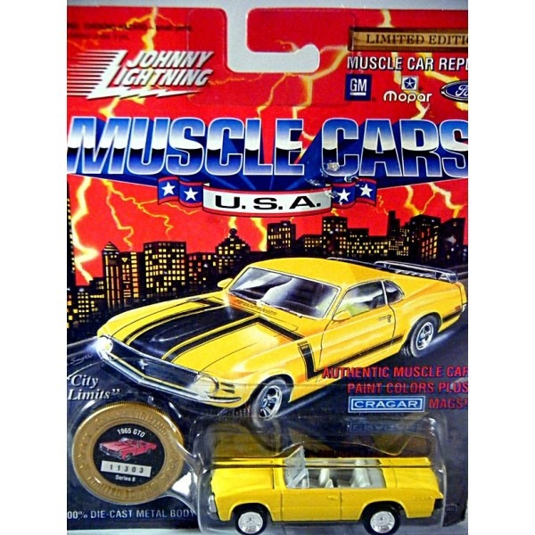 Johnny Lightning Muscle Cars Usa Pontiac Gto Convertible