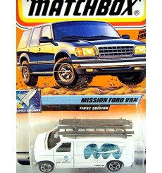 Matchbox 2000 Millennium Logo Chase Series - Ford Contractors Van