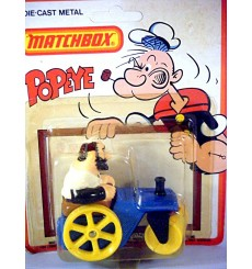 Matchbox Popeye Series - Bluto Road Roller