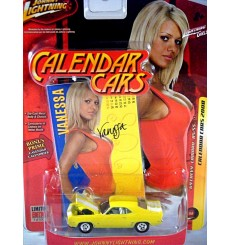 Johnny Lightning Calendar Girls - 1969 Chevrolet Camaro RS/SS