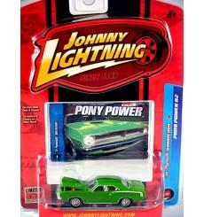 Johnny Lightning Pony Power - 1970 Plymouth Barracuda