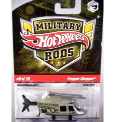 Hot Wheels Military Rods - Propper Chopper - US Army Air Defense Helicopter