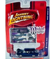 Johnny Lightning Wicked Wagons - 1957 Chevrolet Nomad Station Wagon