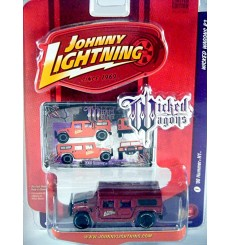 Johnny Lightning Wicked Wagons - Hummer H1 Civilian Wagon