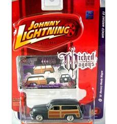 Johnny Lightning Wicked Wagons - 1950 Mercury Station Wagon