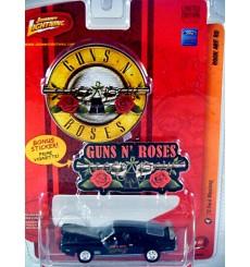 Johnny Lightning Rock Art - Guns N' Roses 1973 Ford Mustang Fastback