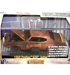 M2 Machines Auto Projects Series - 1969 Pontiac GTO Judge Barn Find