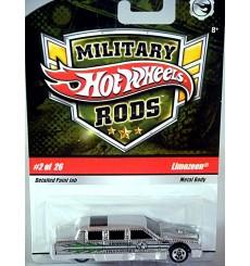 Hot Wheels Military Rods - Limozeen - Cadillac Limousine