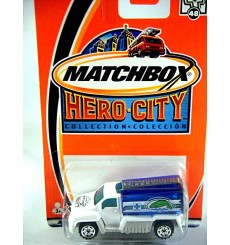 Matchbox Hero City Logo Chase Series - Aquarium Tank Truck