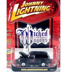 Johnny Lightning Wicked Wagons - 1950 Chevrolet Panel Truck