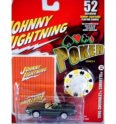 Johnny Lightning Poker Series - Chevrolet Corvette C4 Convertible