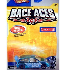 Hot Wheels Race Ace's - Ford Focus Race Car