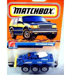 Matchbox 2000 Millennium Logo Chase Series - Police Battering Ram