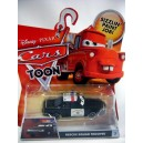 Disney Cars Series - Rescue Squad Trooper Ford Crown Victoria Police Car